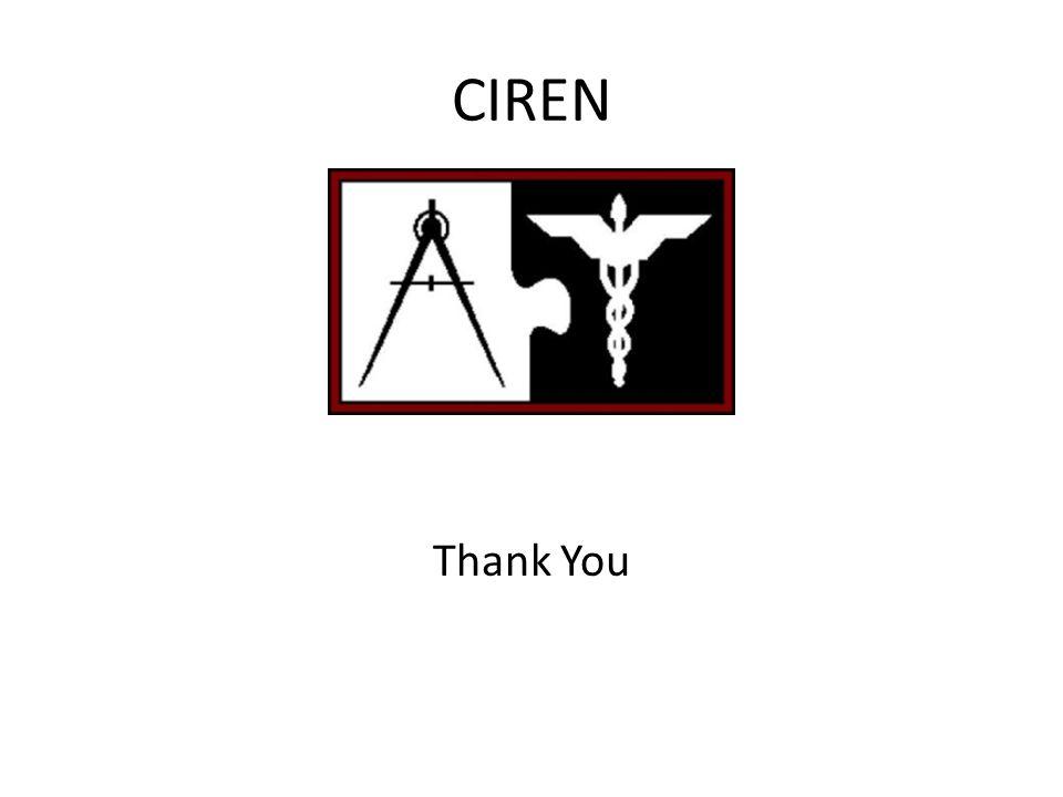 CIREN Thank You