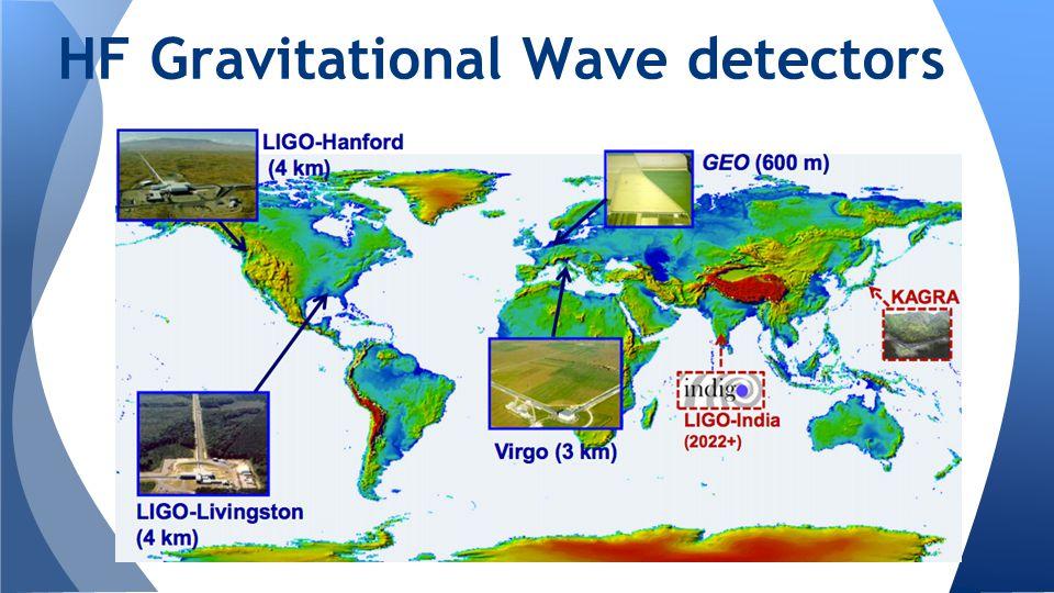 HF Gravitational Wave detectors