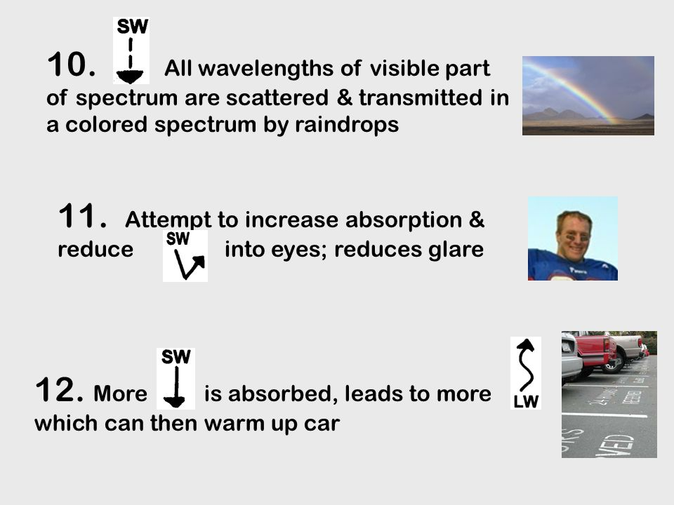 Natural Climatic Forcing = changes due to natural earth- atmosphere-sun processes  Earth-Sun orbital relationships  Solar variability  Changing land-sea distribution (over long time scales: due to plate tectonics)  Volcanic eruptions also: internal atmosphere-ocean variability (i.e., El Nino & La Nina), clouds, dust, etc p 73