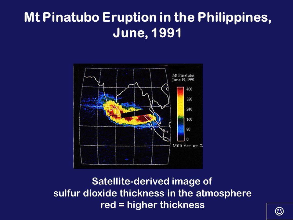 Mt. St.Augustine eruption Surface wind circulation Upper level wind circulation Through the atmospheric circulation!