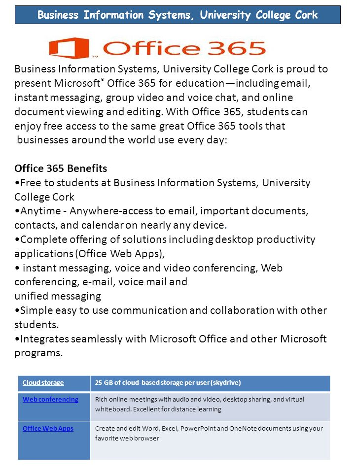 Contact Details General BIS Course Related Queries Please email bis@ucc.iebis@ucc.ie Technical Support Queries – please email BISTechSup@afis.ucc.ie Examples of technical queries include: change of passwords, Microsoft DreamSpark issues, printer or pc issues, swipe card problems, it academy, reaching quota on h:\drive and any other technical related issues.