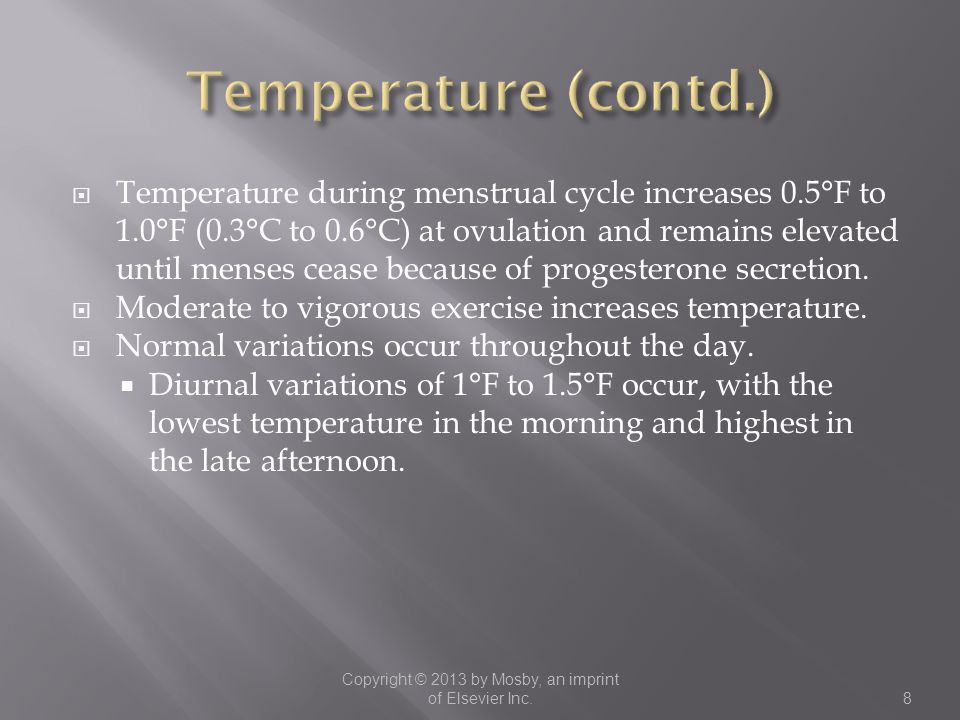  Temperature measurement by oral route is safe and relatively accurate.