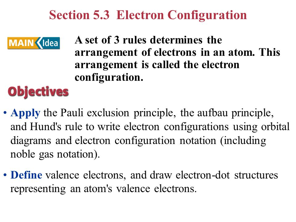 5.1 Light and Quantized Energy 5.2 Quantum Theory and the Atom 5.3 Electron Configurations Chapter 5 - Electrons In Atoms