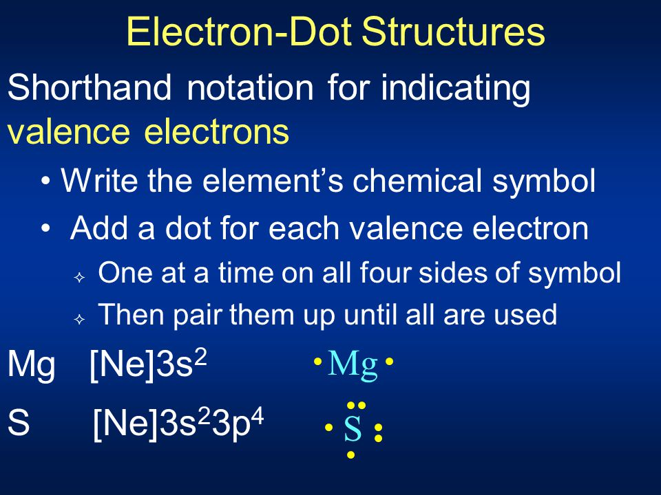 Valence Electrons Defined as those electrons in the atom's outermost orbitals Orbitals with highest n If have a (n-1)d 10 component in the configurati