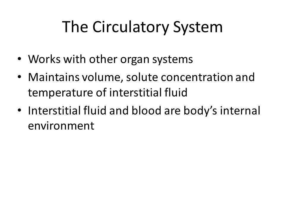 Double Circuits In birds and mammals Right half of heart – Pulmonary circuit – Heart to lungs and return Left half of heart – Systemic circuit – Heart to body tissues and return