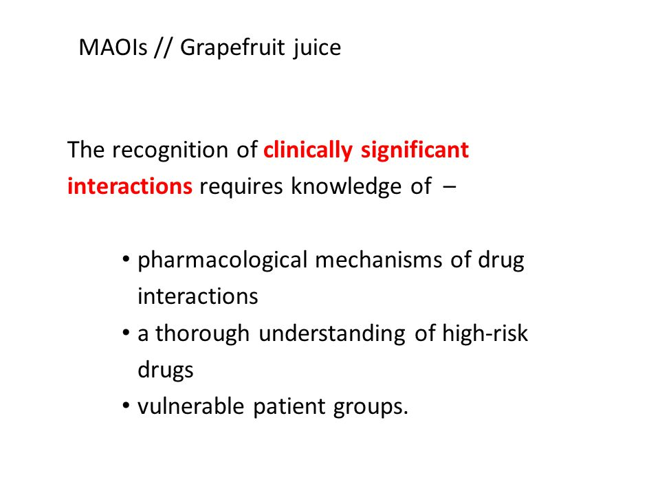 The recognition of clinically significant interactions requires knowledge of – pharmacological mechanisms of drug interactions a thorough understandin