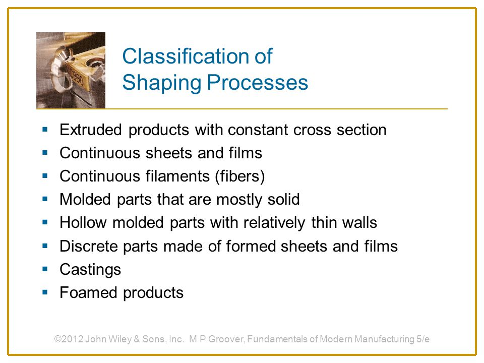 ©2012 John Wiley & Sons, Inc.M P Groover, Fundamentals of Modern Manufacturing 5/e Compression vs.
