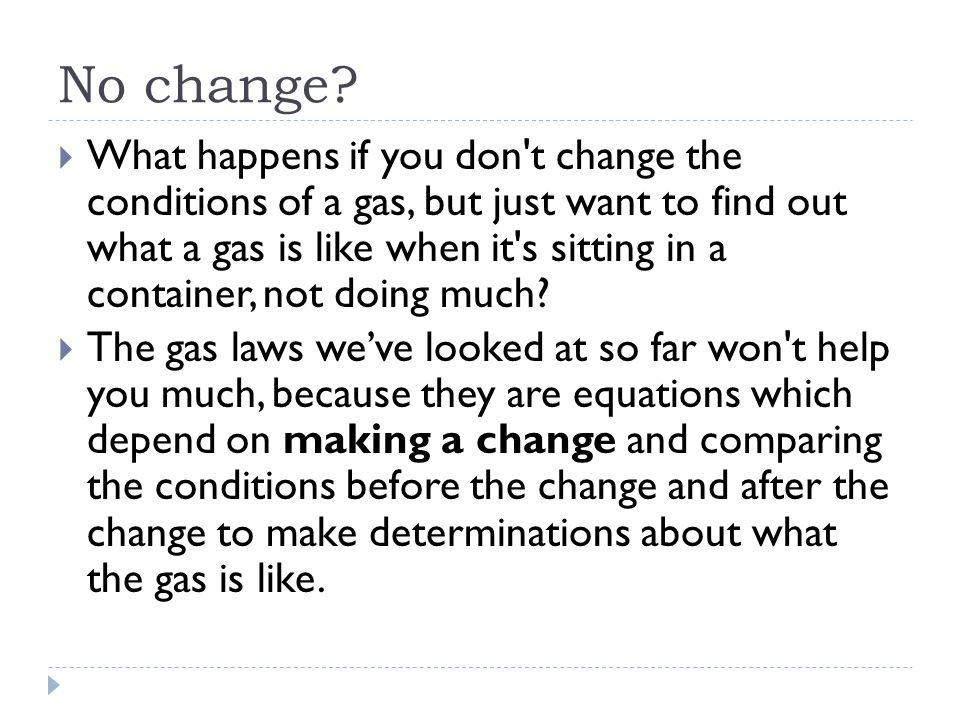 No change.