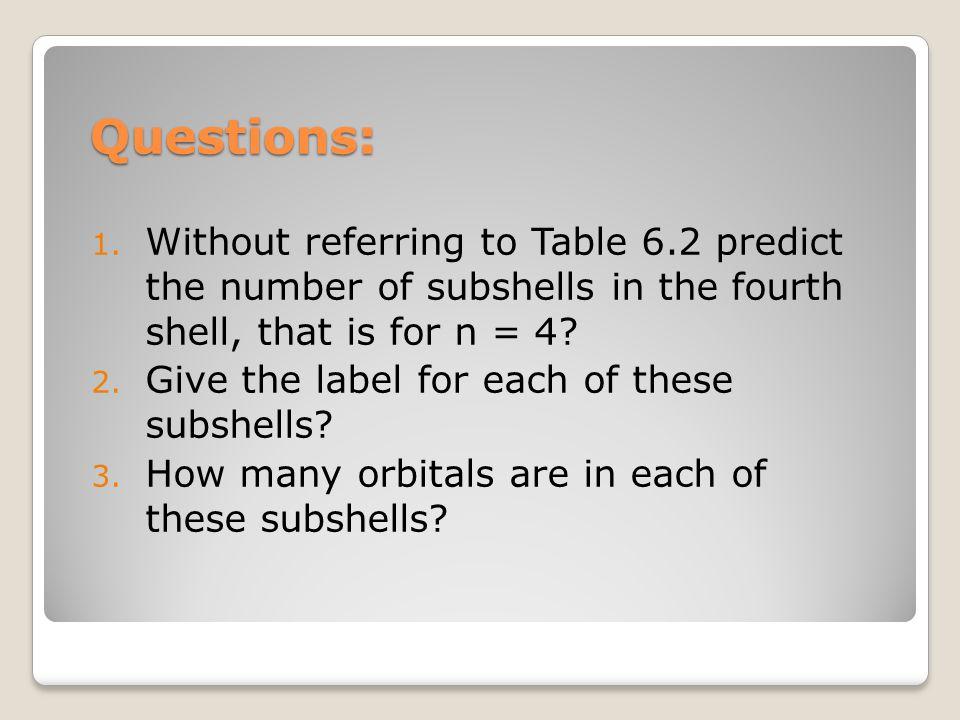 Questions: 1.