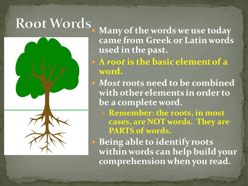 Which of these words means: to go along with; agree to anxiousaccedeaerate Answer: accede How do you know: The root cede means go, yield, surrender