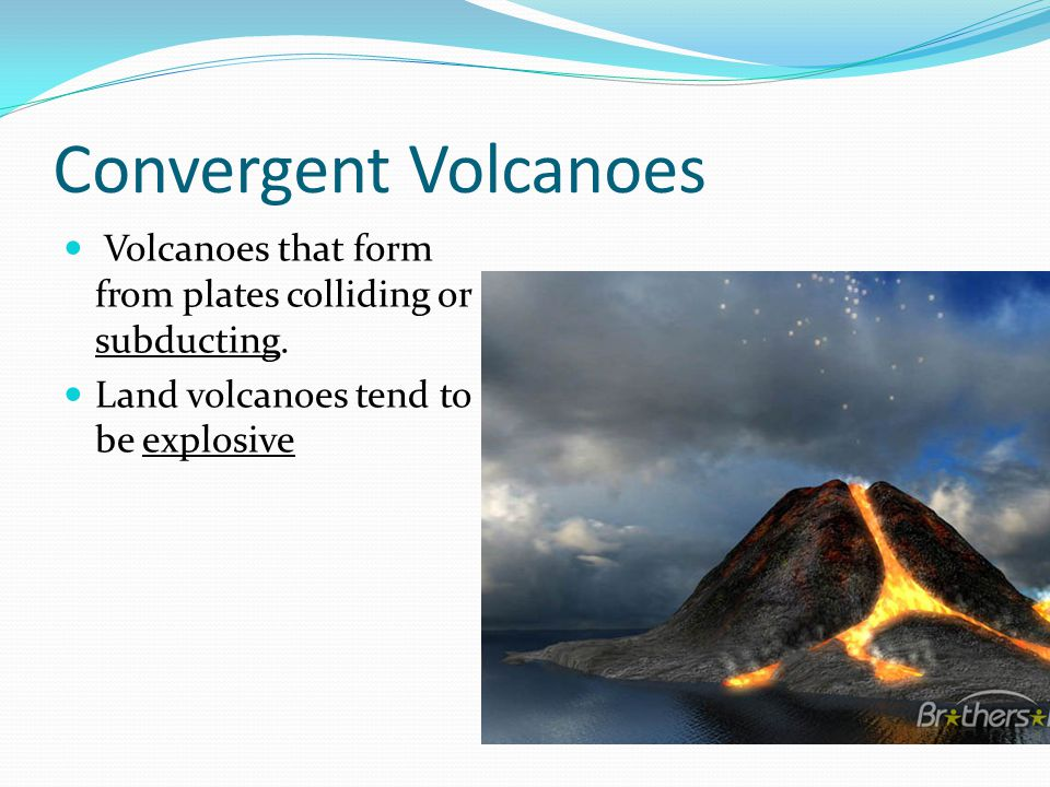 Shield Volcano Broad, gently sloping, circular base Largest type Nonexplosive eruption which leaves layers of lava.