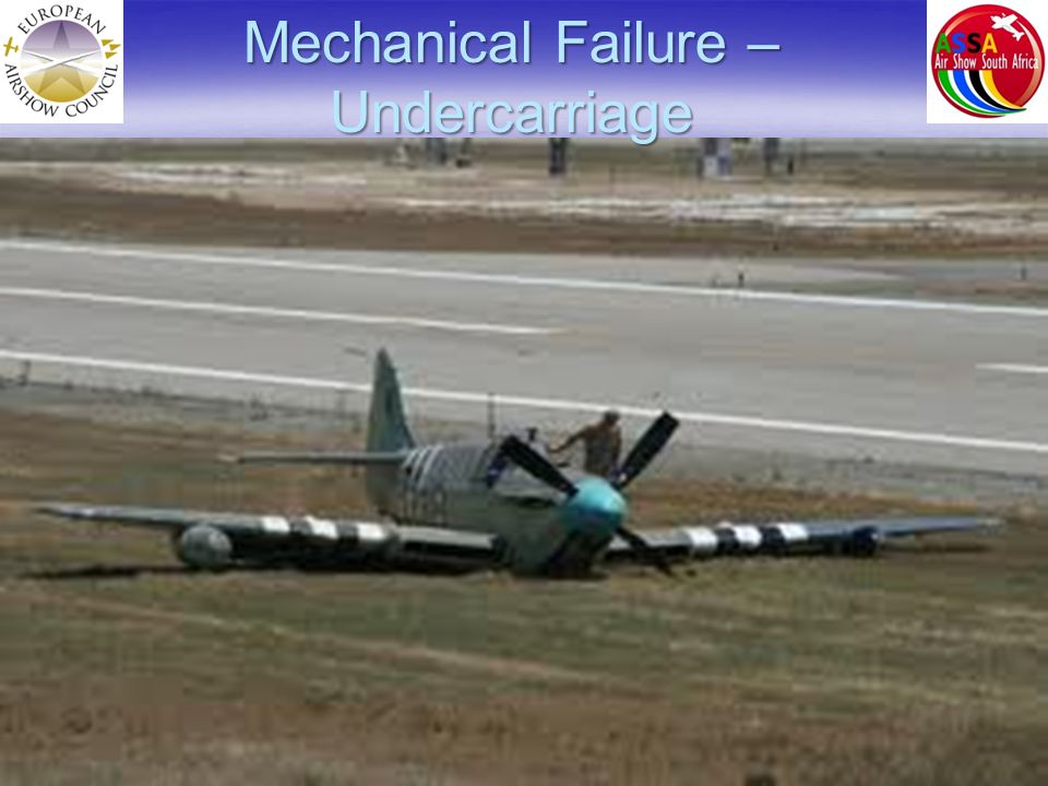 Mechanical Failure – Undercarriage