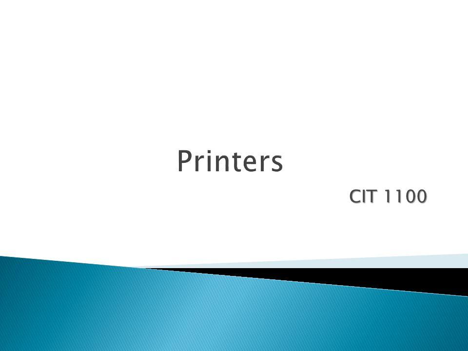 CIT 1100