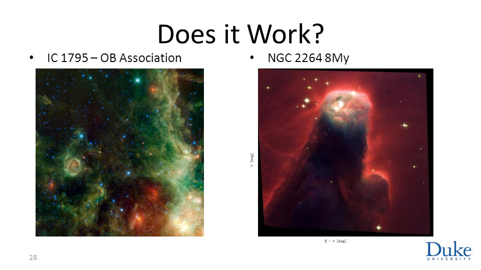Does it Work? IC 1795 – OB Association NGC 2264 8My 28