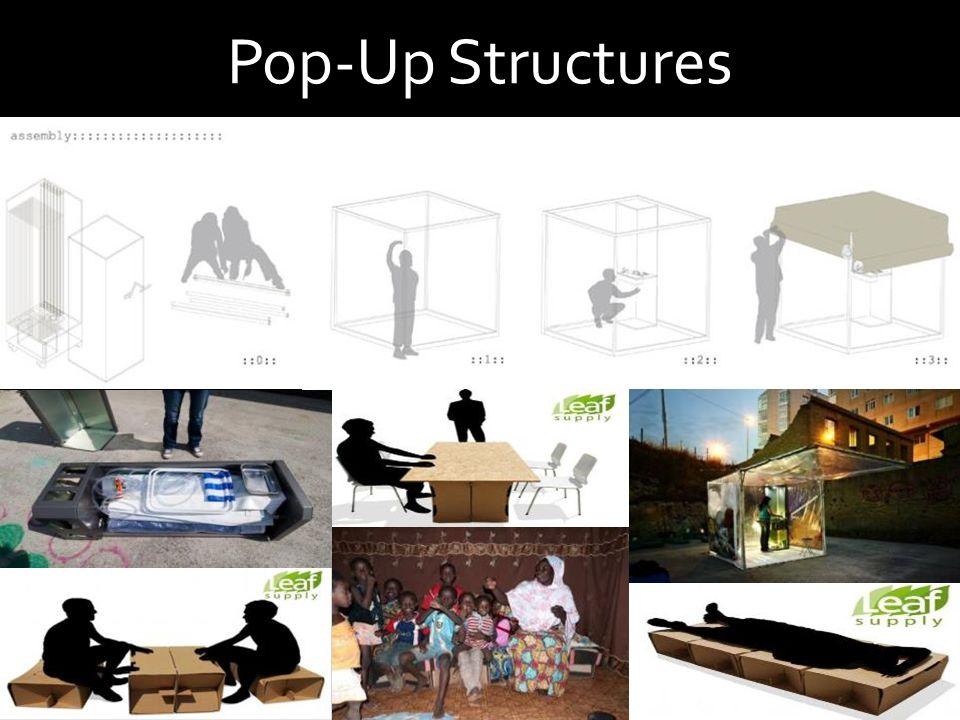 Pop-Up Structures