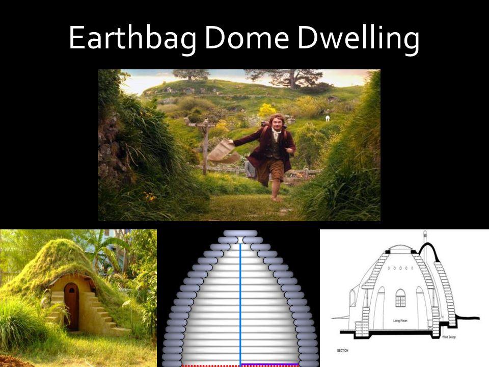 Earthbag Dome Dwelling