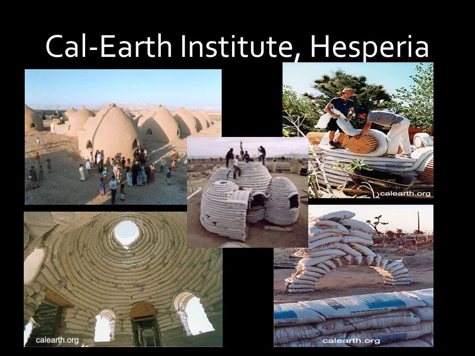 Cal-Earth Institute, Hesperia