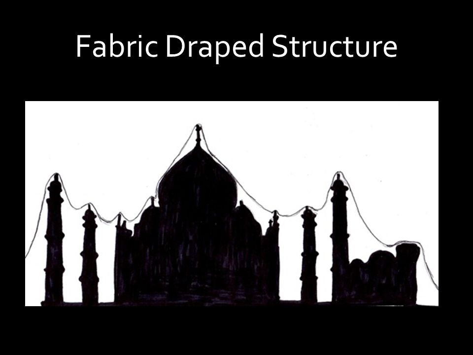 Fabric Draped Structure