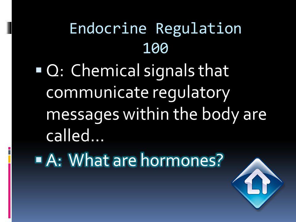 Endocrine Regulation 200
