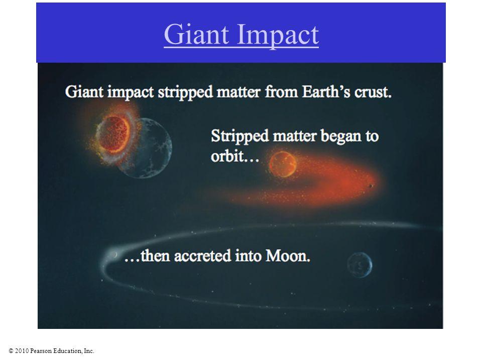 © 2010 Pearson Education, Inc. Jupiter's Galilean moons