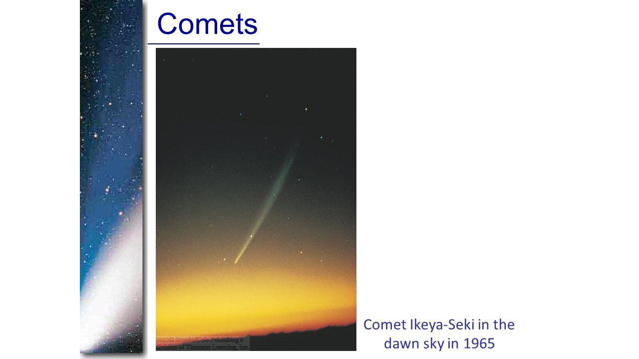 Comets Comet Ikeya-Seki in the dawn sky in 1965