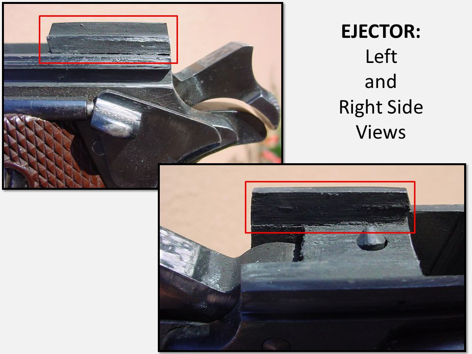EJECTOR: Left and Right Side Views