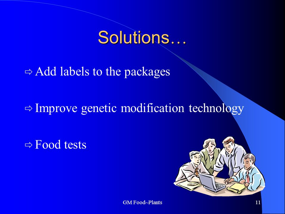 GM Food~Plants10 Religion and choice.
