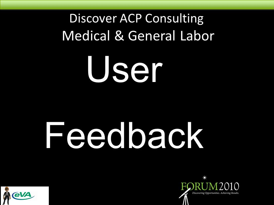 Discover ACP Consulting Medical & General Labor User Feedback