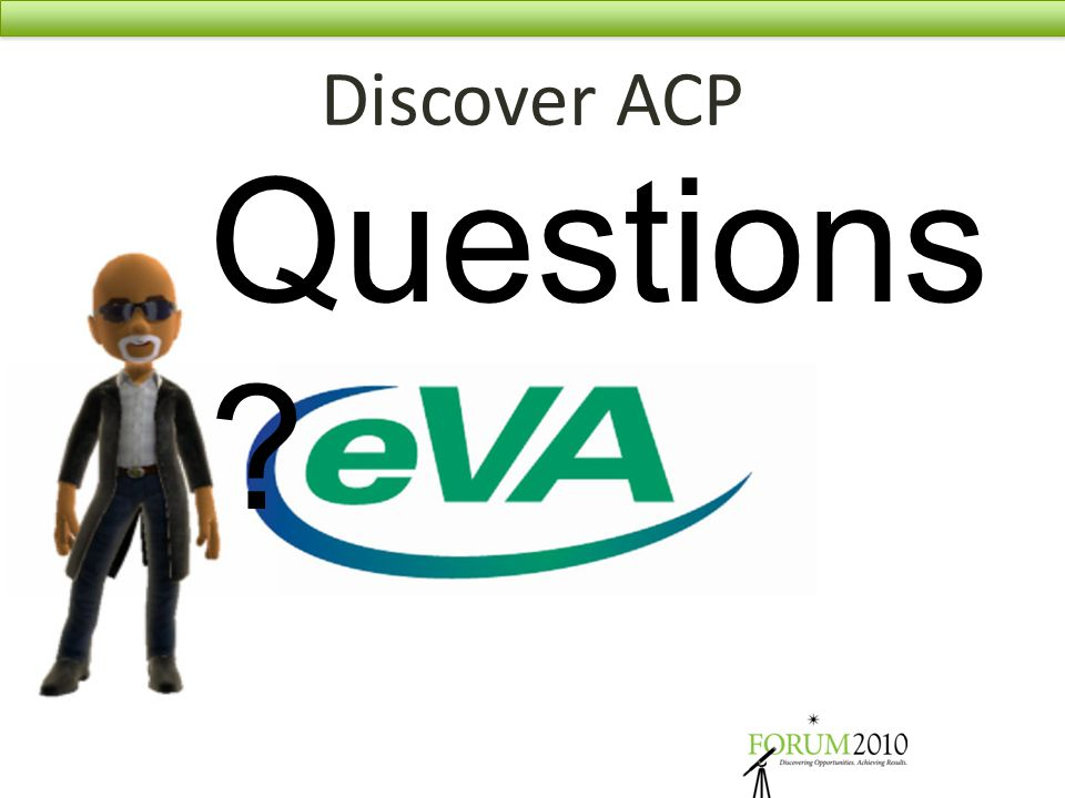 Discover ACP Questions