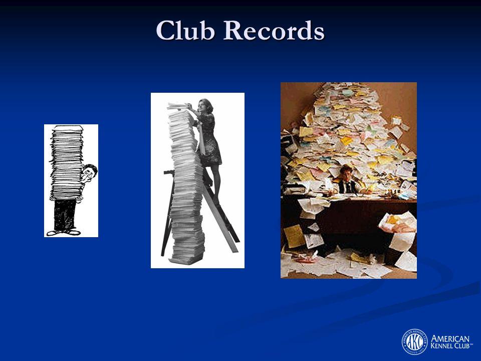 Club Records