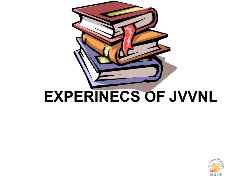 EXPERINECS OF JVVNL