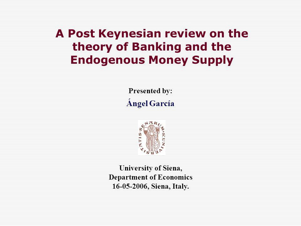 5.Uncertainty, Liquidity and Precautionary Behaviour.