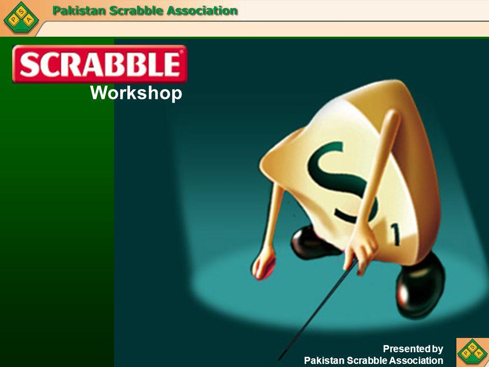 Workshop Presented by Pakistan Scrabble Association
