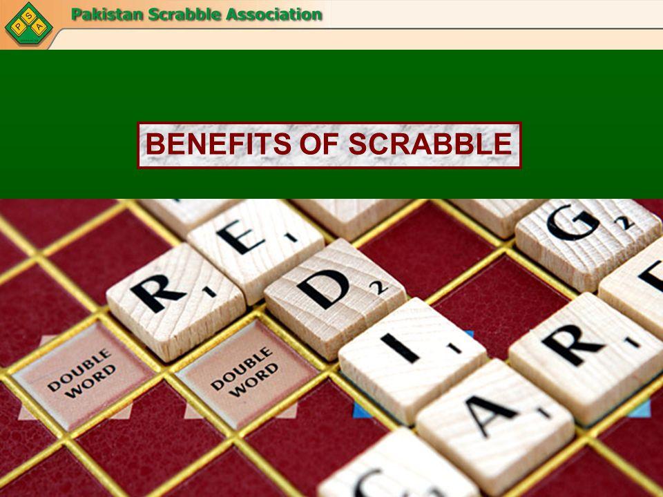 BENEFITS OF SCRABBLE