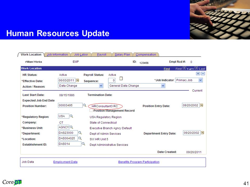 41 Human Resources Update