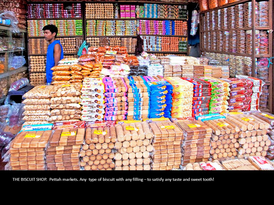 THE BISCUIT SHOP. Pettah markets.