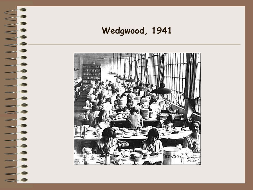 Wedgwood, 1941
