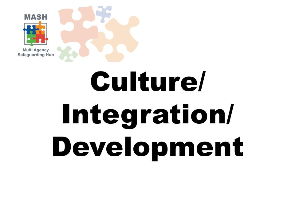 Culture/ Integration/ Development