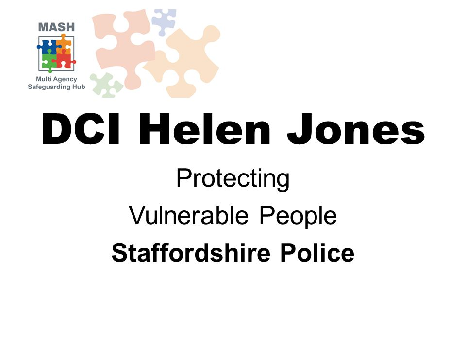 DCI Helen Jones Protecting Vulnerable People Staffordshire Police