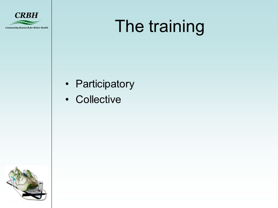 The training Participatory Collective