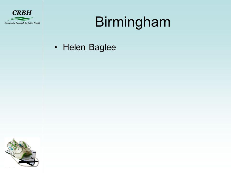 Birmingham Helen Baglee
