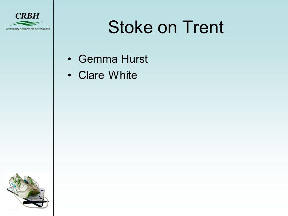 Stoke on Trent Gemma Hurst Clare White