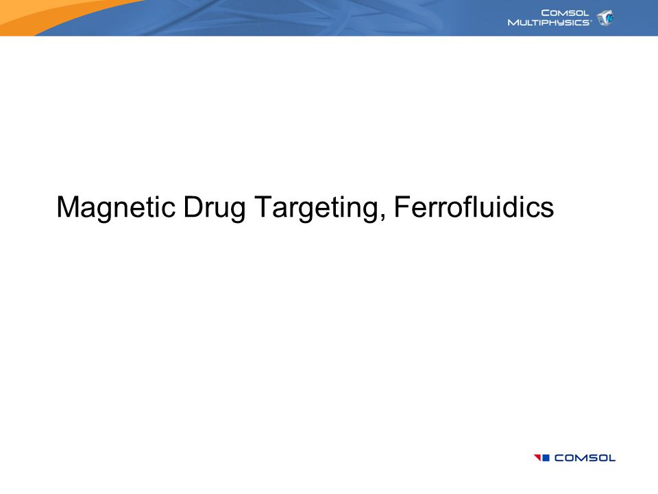 Magnetic Drug Targeting, Ferrofluidics