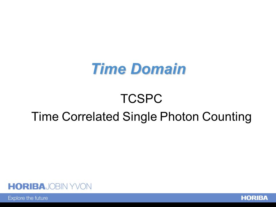 Time Domain TCSPC Time Correlated Single Photon Counting