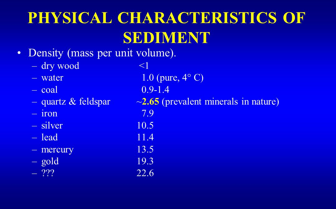 Width: Sediments may be non-uniformly distributed in the cross-section; this may be due to incomplete mixing (inadequate time to mix, weak turbulence, density gradient, weak secondary motion, etc.); or to difference in source and flow characteristics in the cross-section.