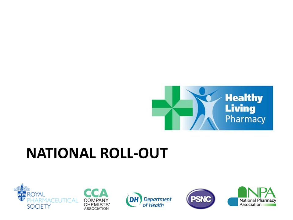 NATIONAL ROLL-OUT