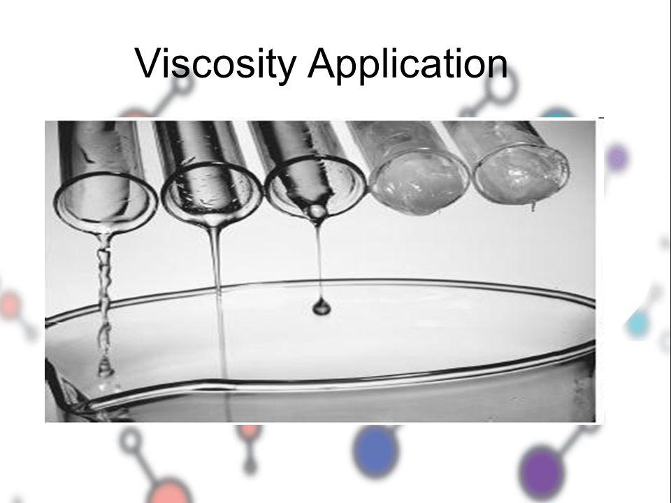 Viscosity Application