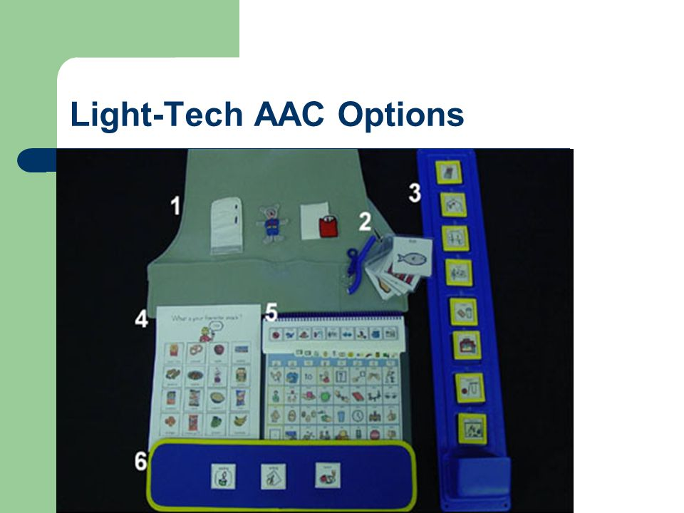 Light-Tech AAC Options