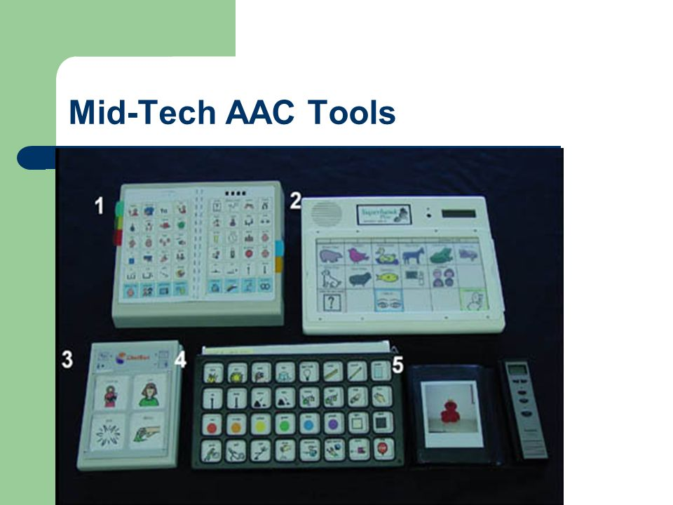 Mid-Tech AAC Tools