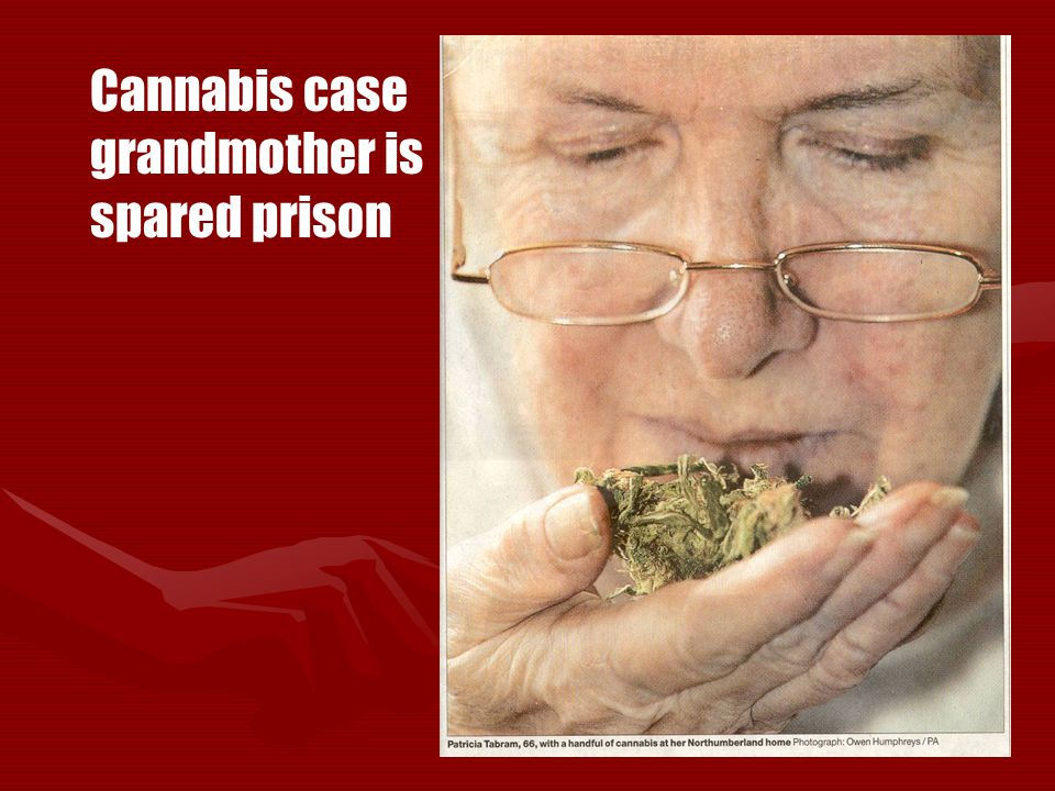 Cannabis case grandmother is spared prison